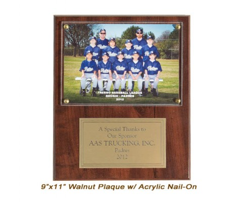 9x11 Team Plaque