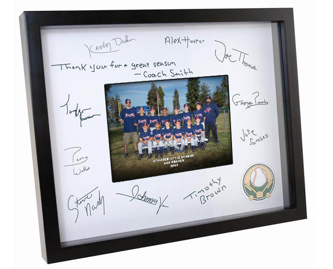 Coach Gift Autograph Frame