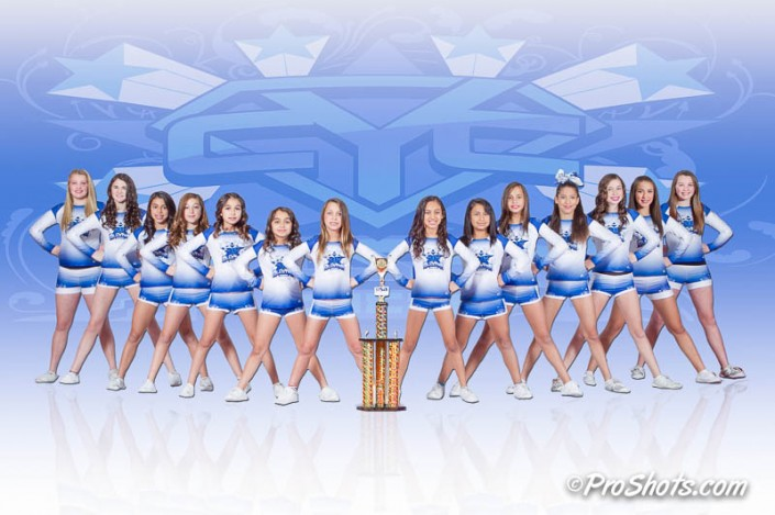 Cheer Team Photo