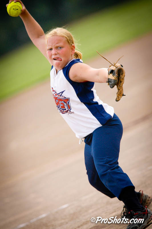 Pro Shots Softball Action Shots