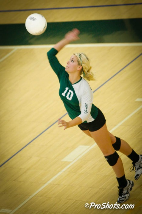 Volleyball Action Shots
