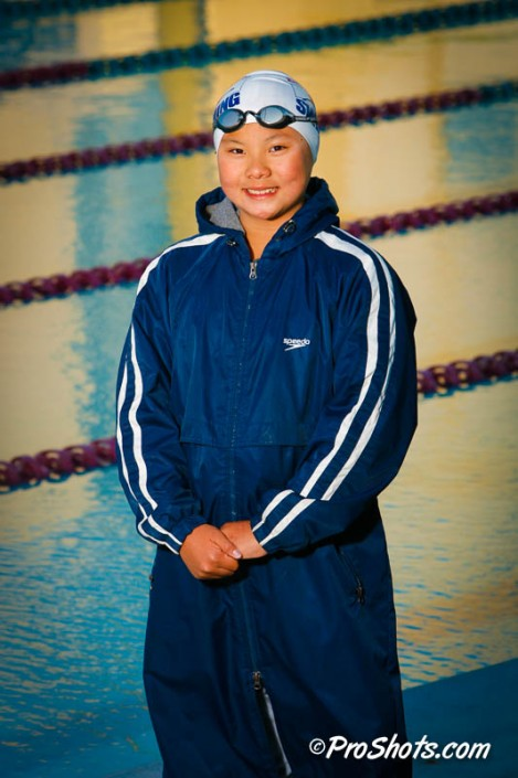 Swim Individual Portrait Photo