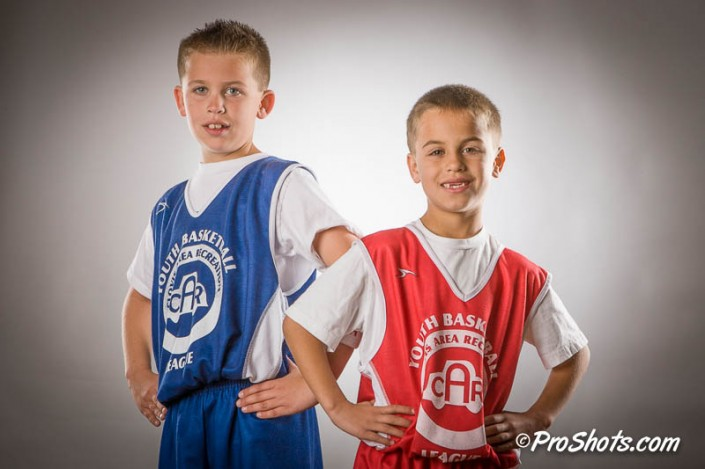 Basketball Buddy Shots Portrait Photo