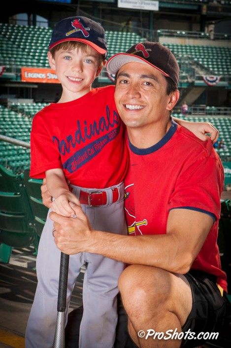 Baseball Buddy Shots Portrait Photo