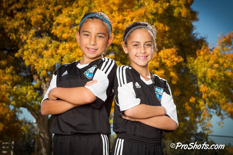 Soccer Buddy Shots Portrait Photo