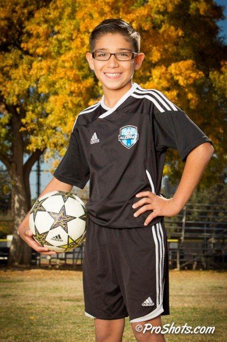 Soccer Individual Portrait Photo