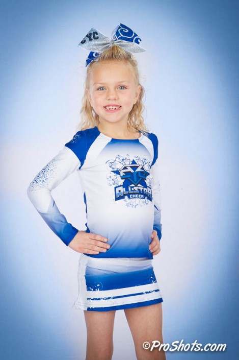 Cheer Individual Portrait Photo