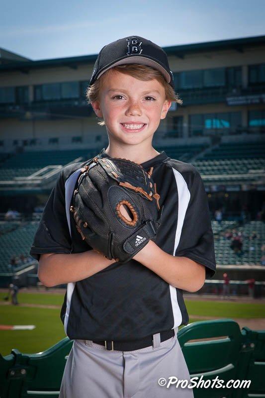 Baseball Individual Portrait Photo