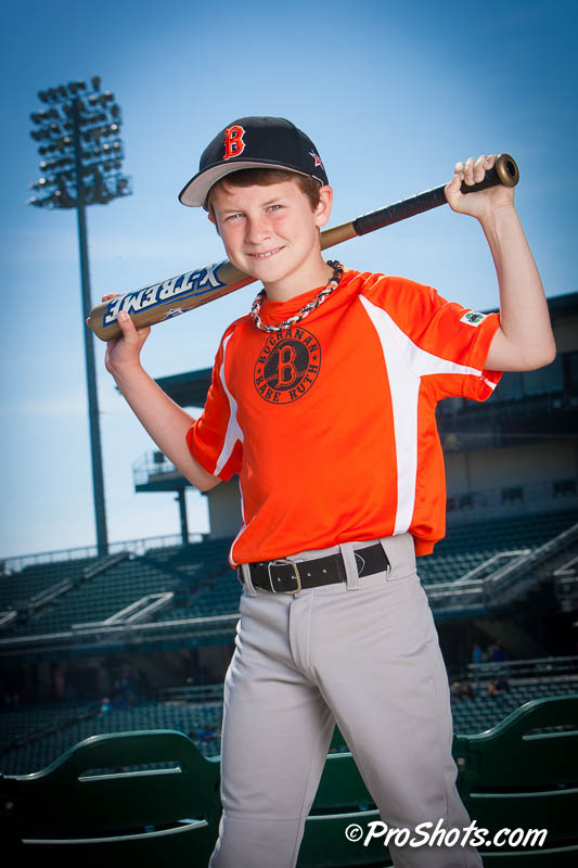 Baseball Individual Portrait Photo