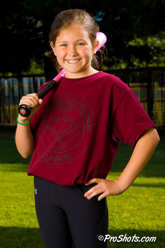 Youth sports Softball Team & Individual portraits in Fresno by Proshots.com