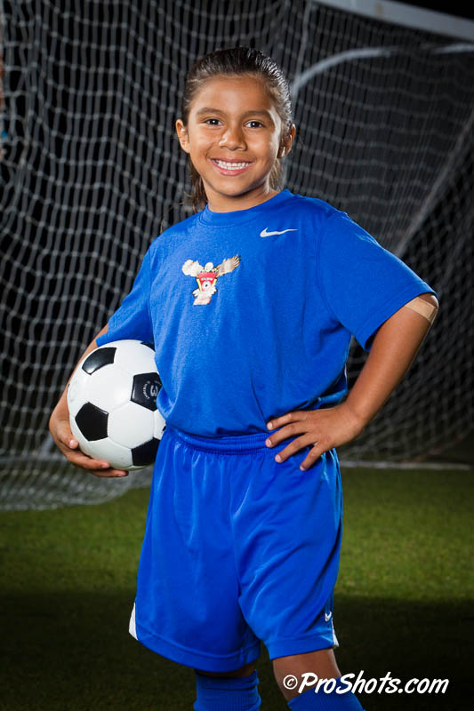 Soccer Individual Portrait Photo